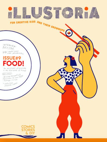 Illustoria #9 - Food