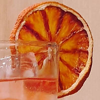 Dehydrated blood orange by The Zest Co