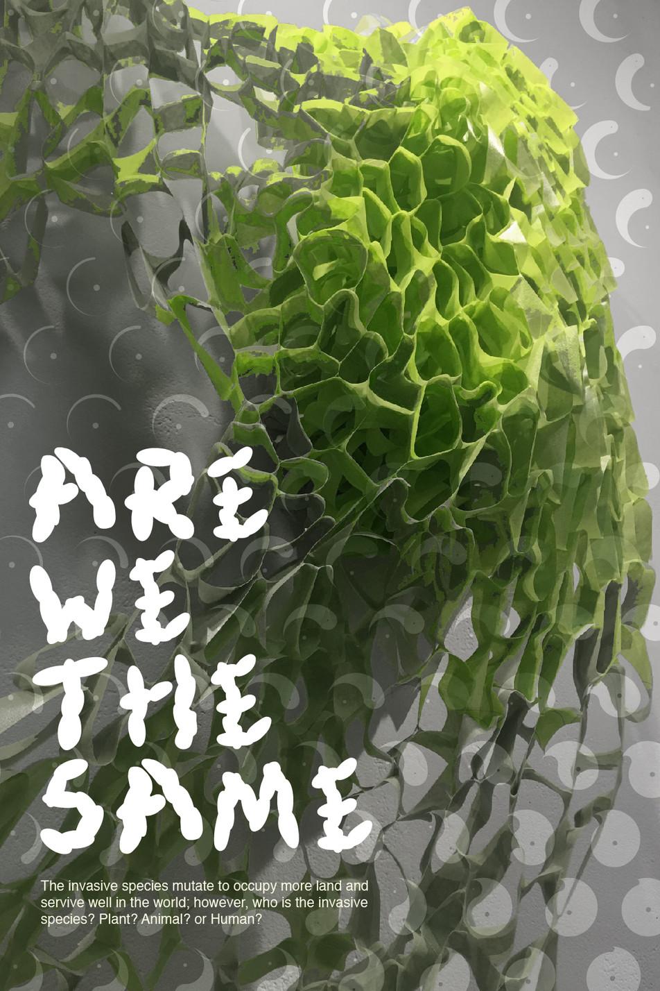 Invasive Species 3   Font&Poster Design