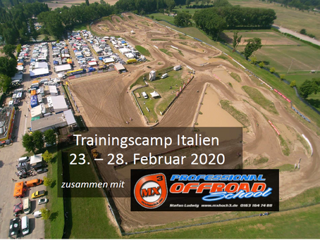 6 Tage Trainingscamp Italien
