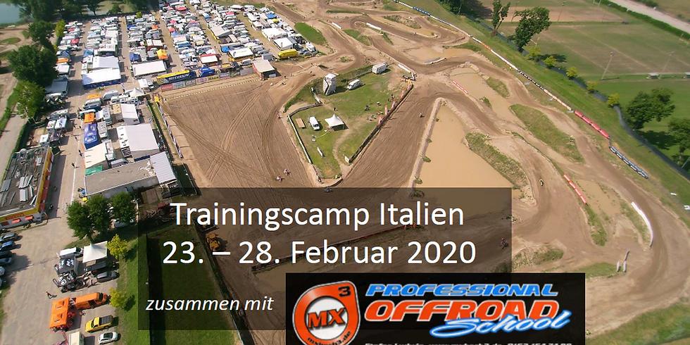 Trainingscamp Italien