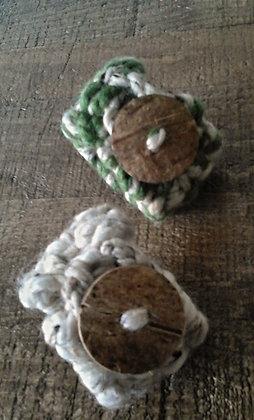 Rustic Tweed Bracelet