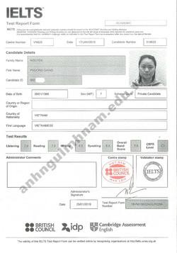 Nguyen Phuong Giang - 7.0 - (17.01.19)