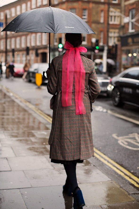 foto The Sartorialist street style London