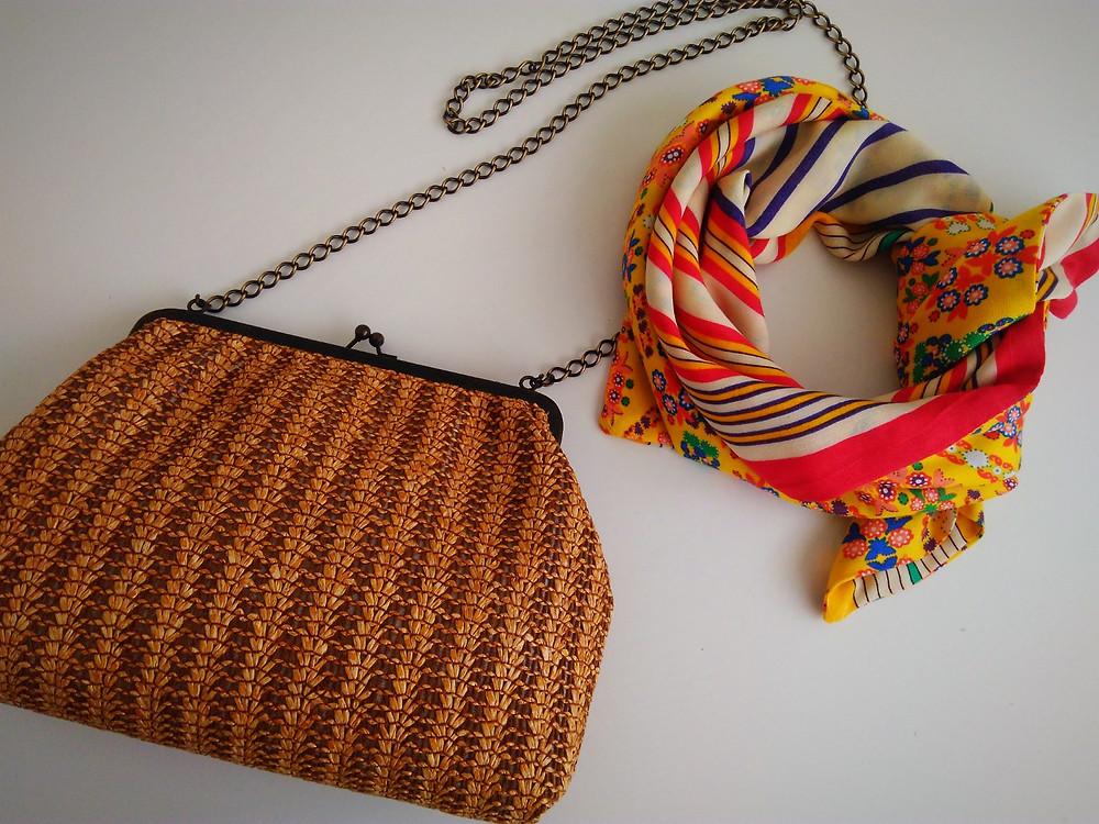 lenço + bolsa espaço MariAgulha