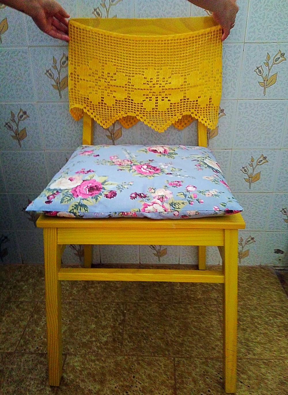 detalhe - cadeira com crochet