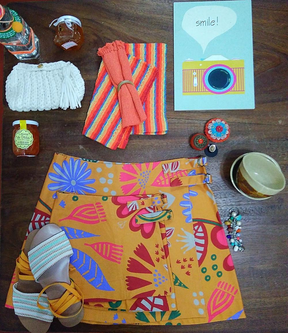 produtosna cor  laranja do espaço Colaborativo Vila Montans