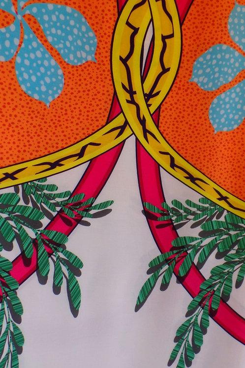 Tecido Blusas Folhagem (Mãe e Filha)