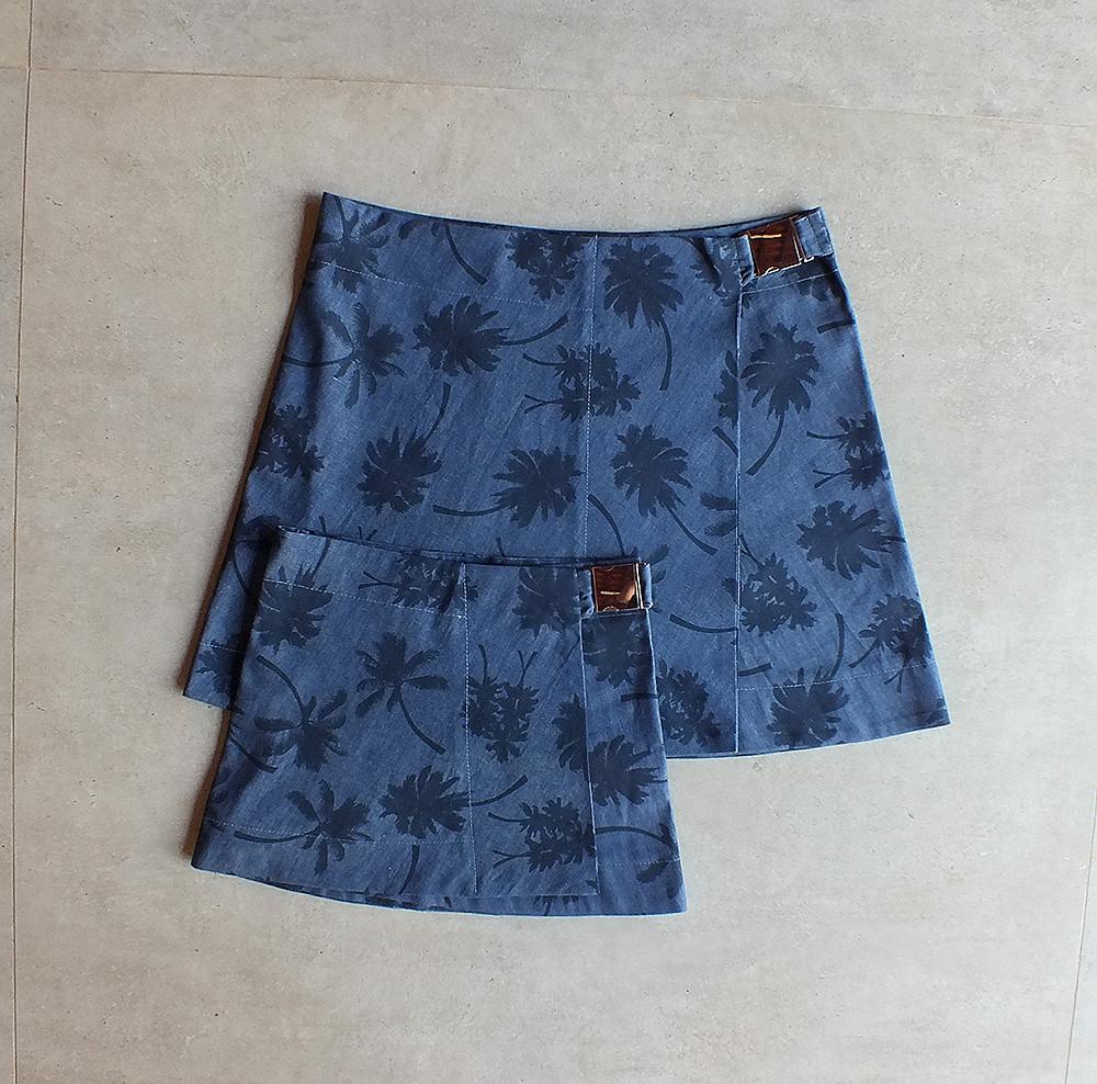 Saias mãe e filha jeans estampado http://loja.alicia.net.br