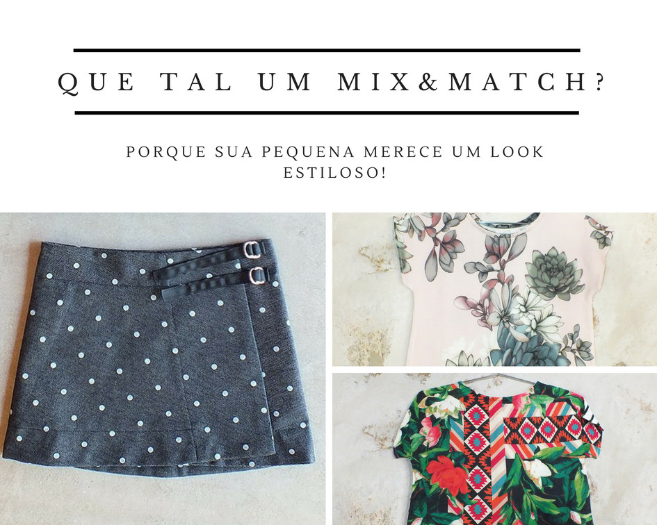 look infantil mix&match