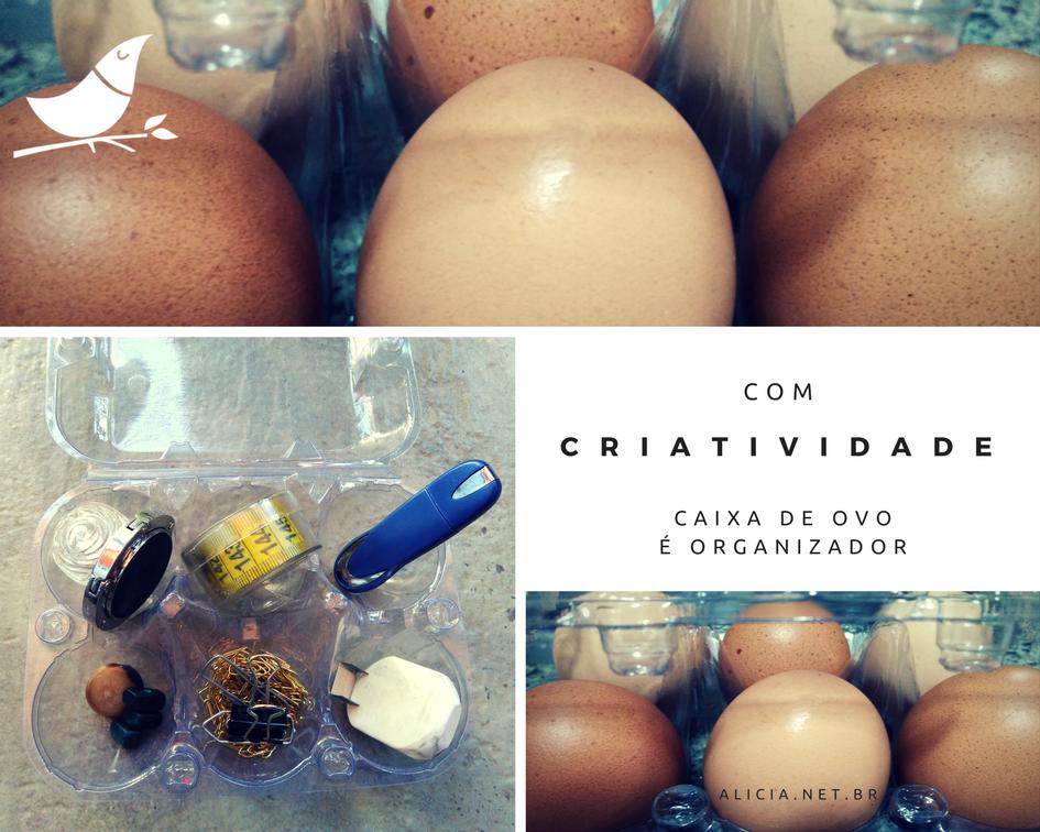 upcycling - caixa de ovos
