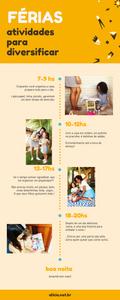 lista de atividades - final de semana com os filhos - férias crianças em casa - o que fazer com os filhos nas férias - 4 atividades férias infantis