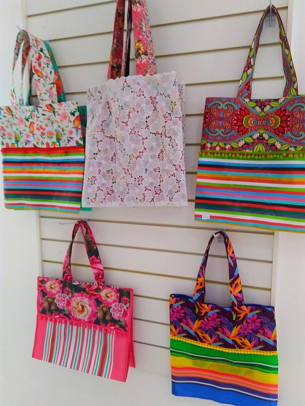 bolsas da feira para onde você quiser da A Sacoleira