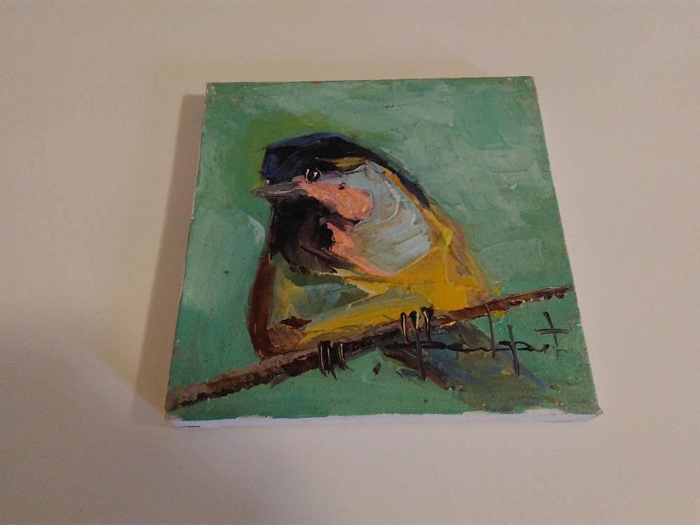 quadro Paulo Peter - artista plástico