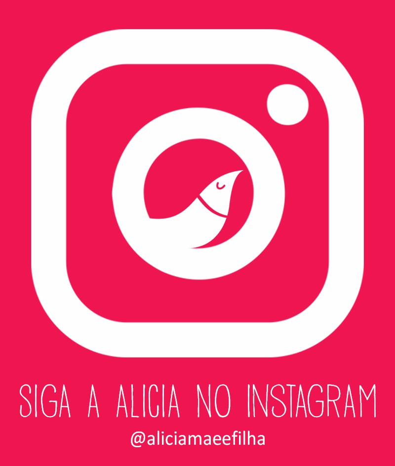 instagram Alícia mãe e filha