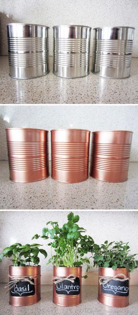horta de temperos upcycling