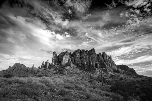 Superstition Mountains, Apache Junction, Arizona 2017