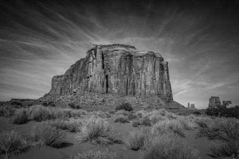 Elephant Butte, Monument Valley, Utah. 2017