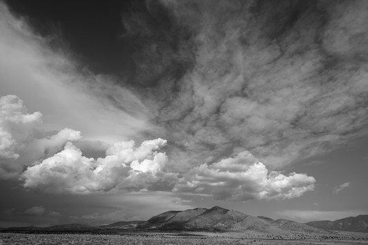 Lonely as a Cloud, Three Rivers, New Mexico. 2017