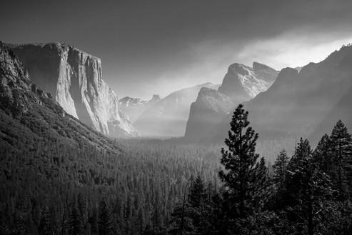 Tunnel View, Yosemite National Park, California. 2017
