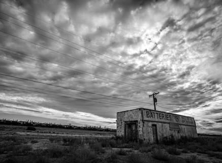 Batteries, Historical Route 66, Holbrook, Arizona. 2017
