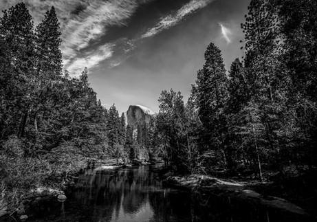 Half Dome, Yosemite National Park, California. 2017