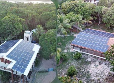 Agora a Lagoa do Cassange é 100% solar!