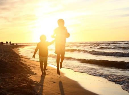 Passar um tempo junto ao mar cura!