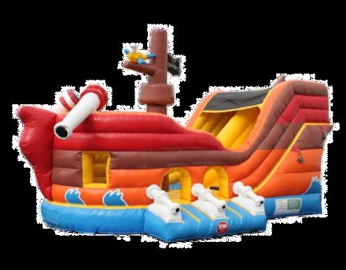 Pirate Ship Slide/Bounce Combo