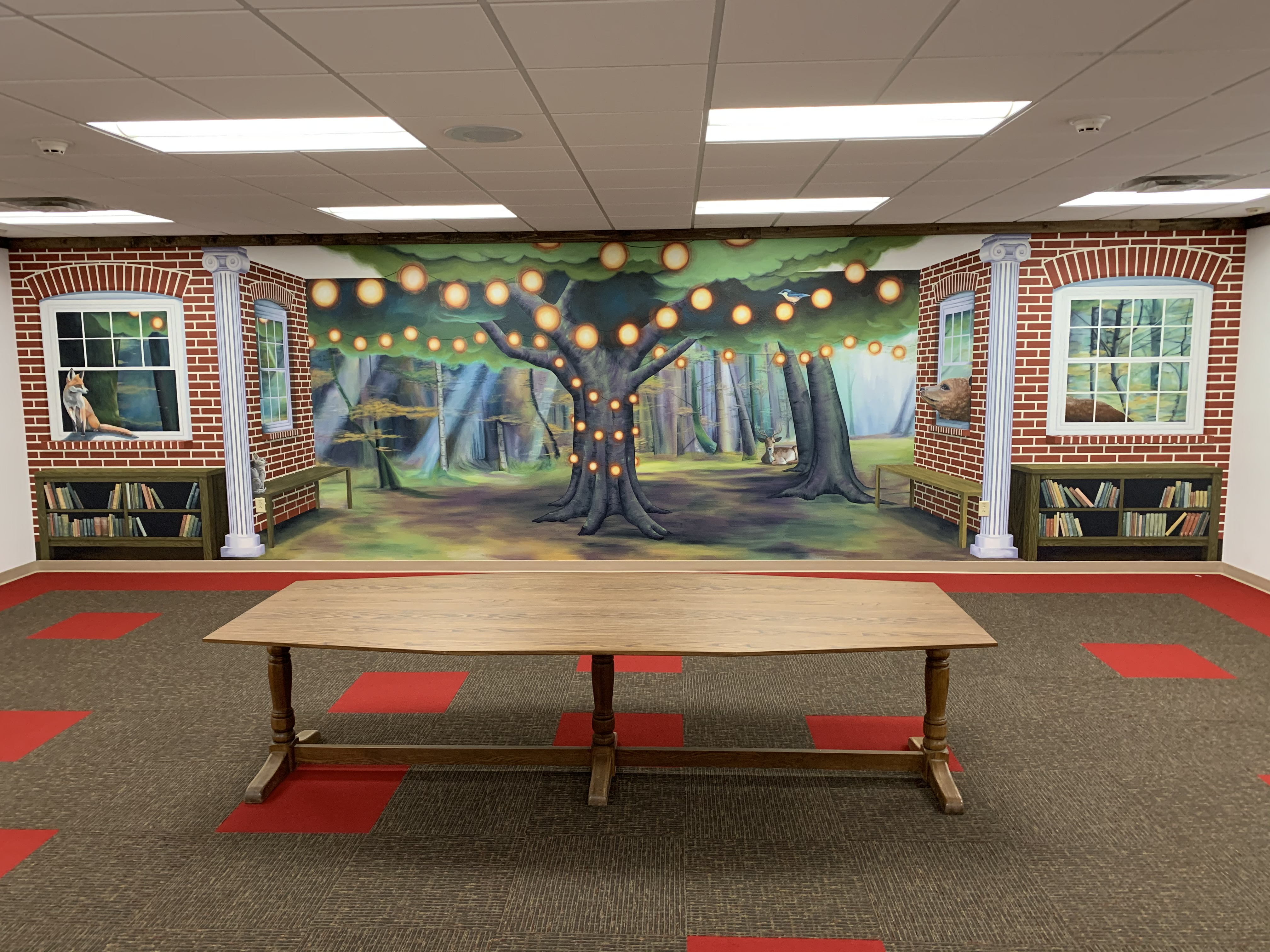 Brewer Public Library's Storytime Room