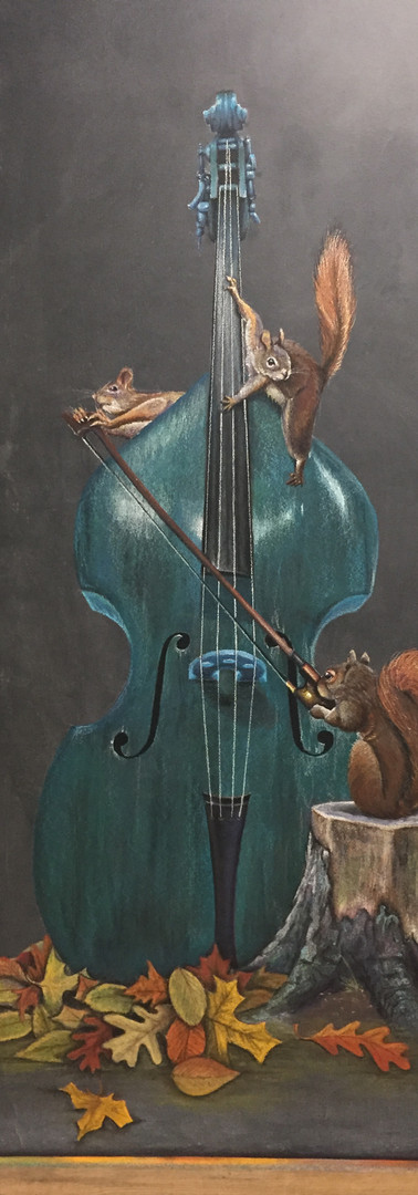 Bass-ic Squirrel Play