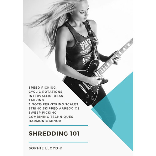 'Shredding 101'  PDF Lesson Booklet