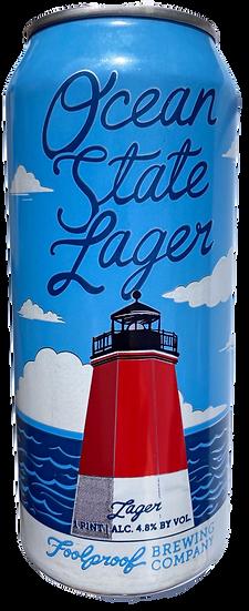 Ocean State Lager CANdle-Lemon,Verbena & Rosemary