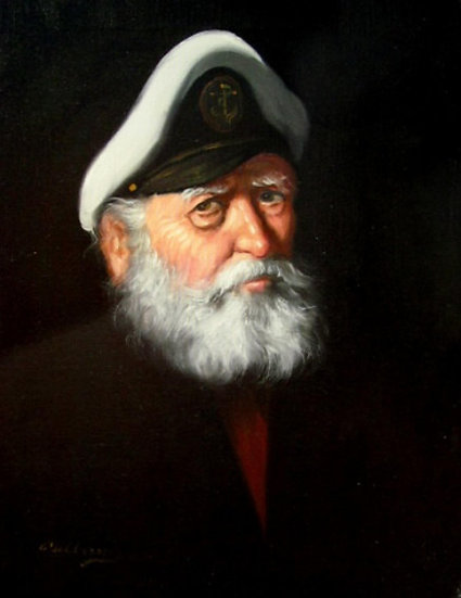 Sea Captain Print
