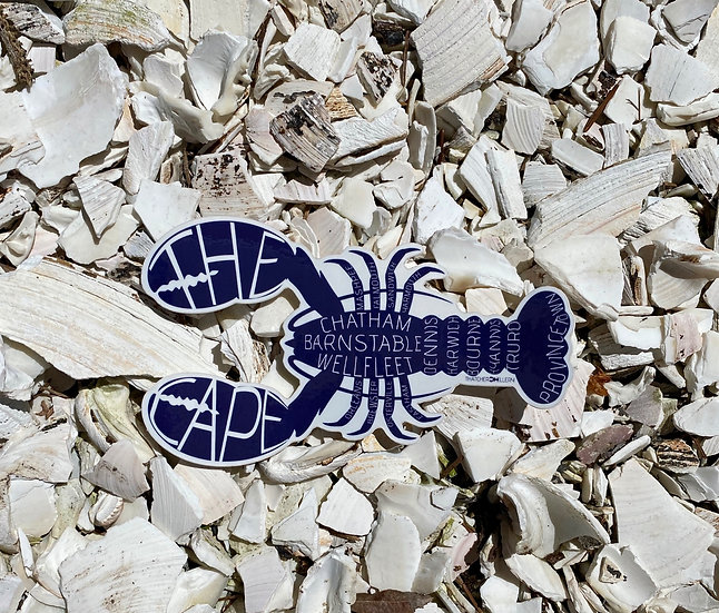 The Cape Lobster Sticker