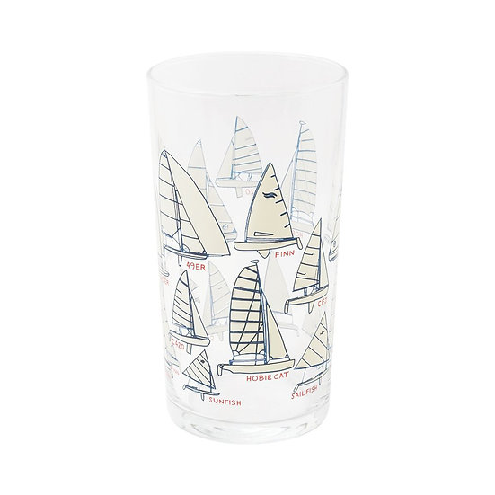Sailboats Glass