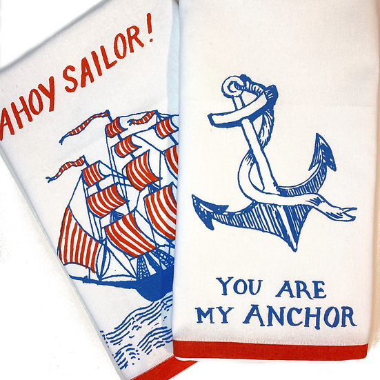 Ship Shape Tea Towels