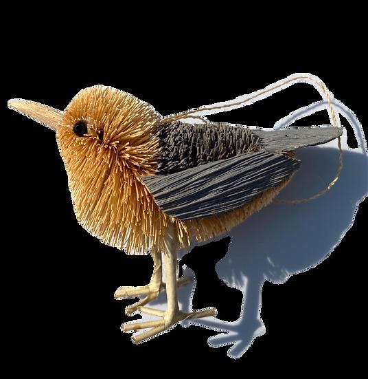 Seagull Bottle Brush Ornament