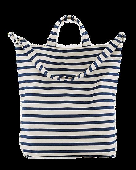 Canvas Sailor Striped Tote Bag