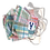 Thumbnail: The TE  Patchwork Madras Mask