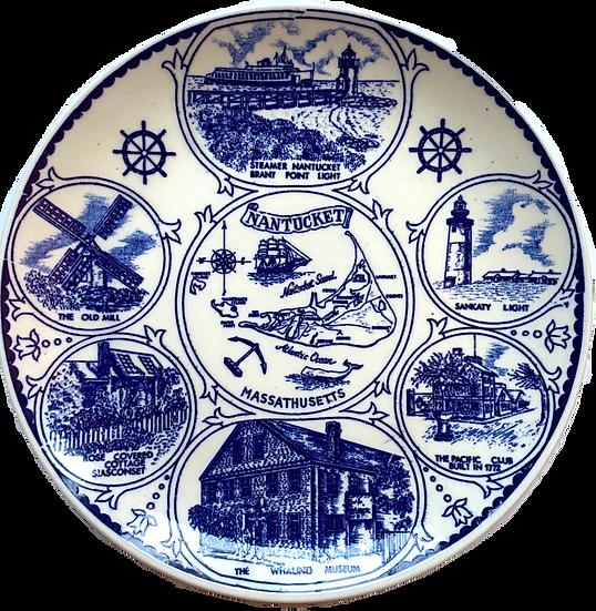 Nantucket Souvenir Plate