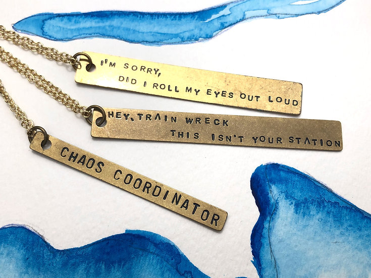 Snarky Necklaces