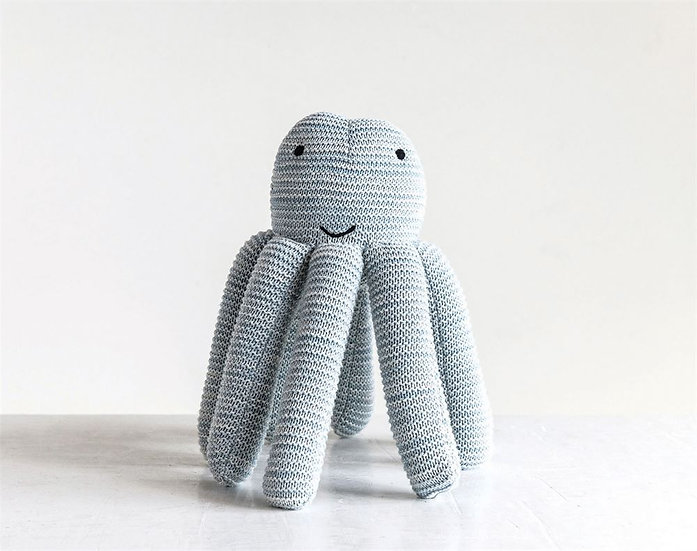 Inky Knit Octopus