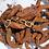 Thumbnail: Hammered Brass Link Bracelet
