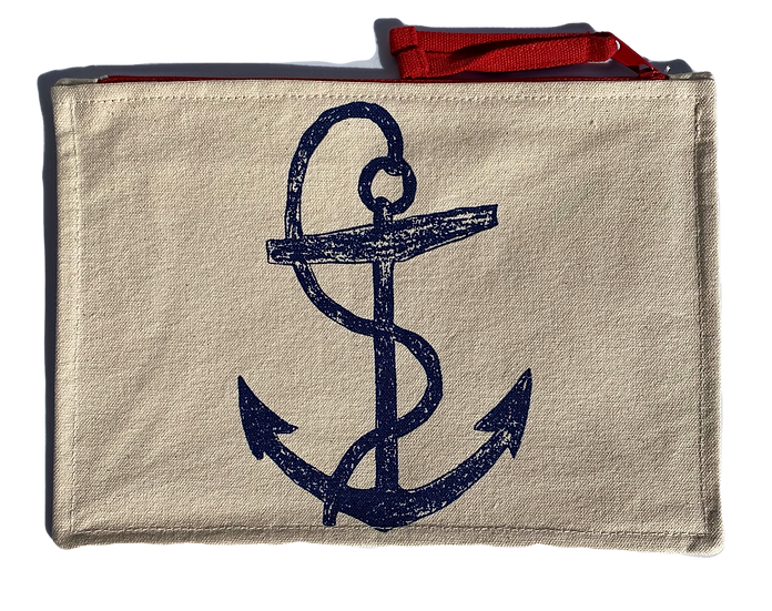 Anchor Sketch Anchor Pouch