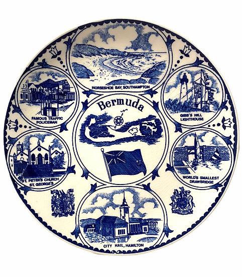 Bermuda Souvenir Plate