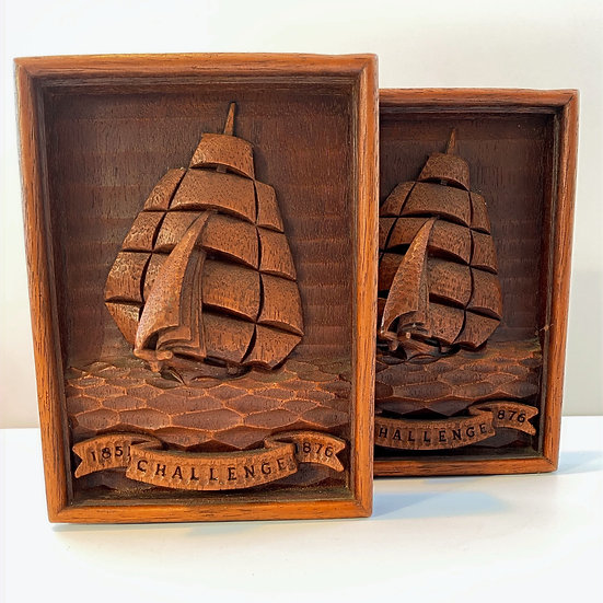 Clipper Ship Challenge Bookends