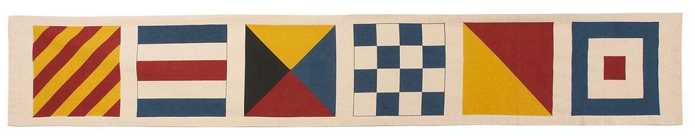 Signal Flag Table Runner