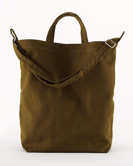 Canvas Tote Bag-Kelp