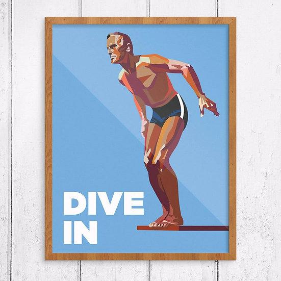 Dive In Prints